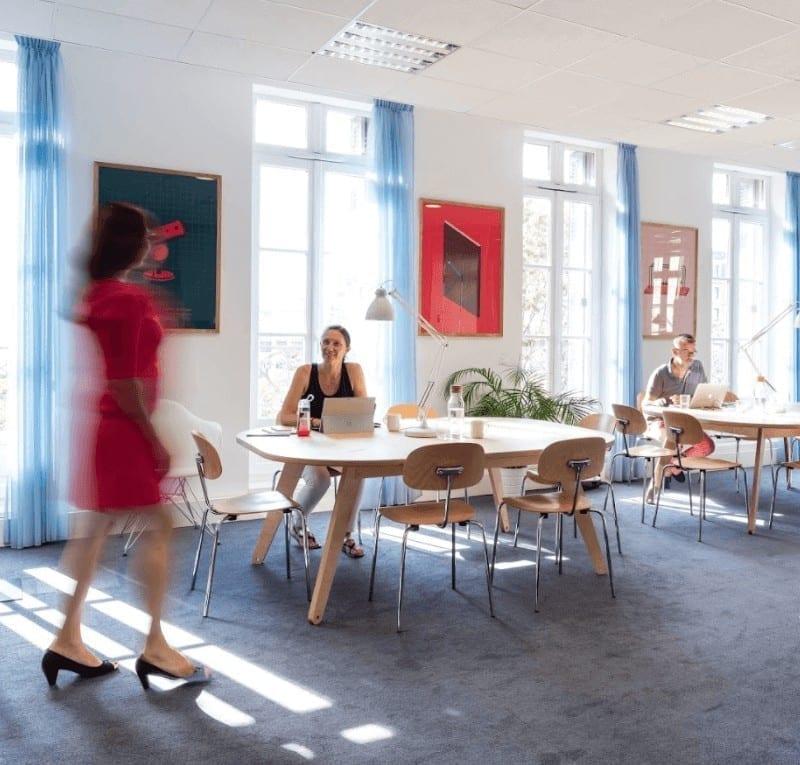 Espaces de coworking stimulants et connectés